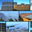 Clean Solar Energy Montage — Video Stock