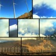 Montage of  Wind Turbine Energy — Video Stock