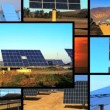 Montage of Solar Energy & Sunset — Stock Video