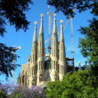 Sagrada Familia Church, Spain - Stock Photo