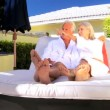 Mature Couple at Health Spa - Stock Photo