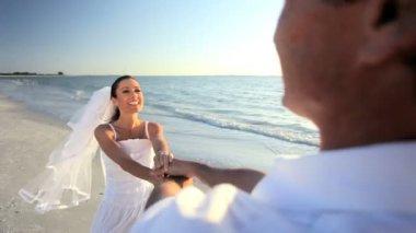 Dream Beach Wedding — Stock Video