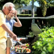 Seniors Heathy Eating — Stock Video