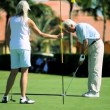 Stock Video: Seniors Golfing Lifestyle