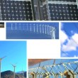Montage of Clean Renewable Energy Production — Vídeo Stock