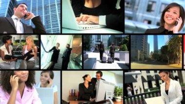 Montage of Successful Business — Stock Video