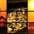 Montage of Renewable Energy & Fossil Fuel Damage - Stock Photo