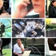 Montage of Business & Technology — Stock Video