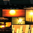 Stock Video: Sunset Clean Energy Montage