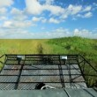 Airboat in Florida Everglades — Stock Video