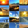 Montage of Clean Energy Production — Vídeo Stock