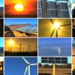 Montage of Renewable Energy Production — Vídeo Stock
