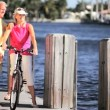 Leisure Cycling in Retirement — Stock Video #21893957