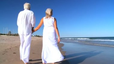 Seniors Retirement Leisure — Stock Video