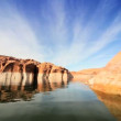 Clear Water Reflections in Lake Powell, Arizona — Stock Video #22750567