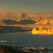 Canyons of Lake Powell — Stock Video