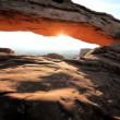 Mesa Arch Sunrise, USA — Stock Video