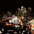 Elevated Time-lapse of Los Angeles at Night — Stock Video