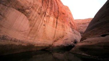 Environmental Drought at Lake Powell, Arizona — Stock Video