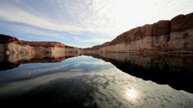 Scenic Beauty of Lake Powell, Arizona — Stock Video
