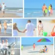 Lifestyle Montage of Enjoying Vacation Activities — Stock Video #23175302