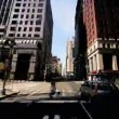 Time Lapse P.O.V Driving Midtown Manhattan, NY, USA - Stock Photo