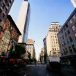 Time Lapse Point of View driving Midtown Manhattan, NY, USA - Stock Photo