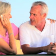 Stock Video: Lifestyle Montage of Contented Senior Couple