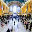 Timelapse Grand Central Station New York, USA - Stock Photo