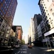 P.O.V Driving Towards Flatiron Building, Manhattan, USA — Stock Video