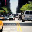 Yellow Cabs & City Traffic New York City, USA — Stock Video