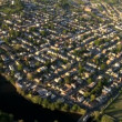 Aerial view of New Jersey and suburbs, New York State, NY, USA — Stock Video