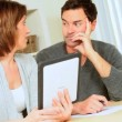 Young Couple Needing Financial Solutions - 