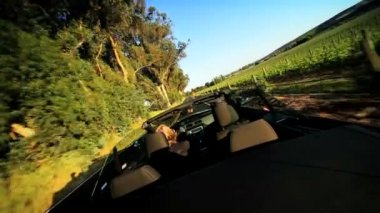Touring Vacation of the Wine Region of Napa Valley — Stock Video