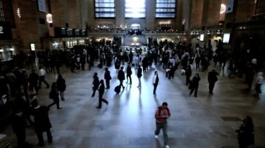 Grand Central Station New York, USA — Stock Video