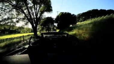 Driving Through Napa Valley — Stock Video