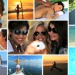Lifestyle Montage of Female Fitness & Fun — Vídeo de Stock