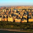 Aerial view of Upper West side, New York, Manhattan, America — Stock Video