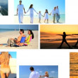 Stock Video: Montage of Beach Lifestyle Activities