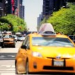 New York City Traffic Intersection - Stock Photo