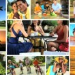 Montage of Outdoor Lifestyle Activities — Stock Video #23182466