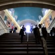 Stairway into Grand Central Station, Manhattan, NY, USA - Stock Photo