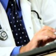 Senior Medical Doctor in his Consulting Rooms — Stock Video #23249540