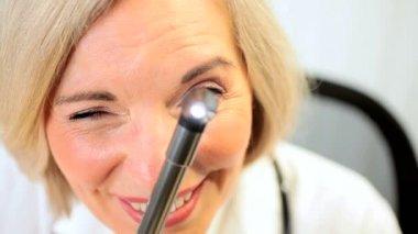 Examination by Senior Medical Consultant — Stock Video