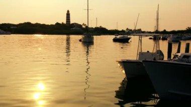 Tropical Island Lighthouse — Stock Video #23249786