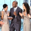 Successful Multi Ethnic Business Team — Stock Video #23250148