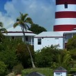Stock Video: Tropical Island Lighthouse