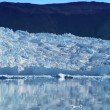 Stock Video: Glaciers Melting from Global Warming