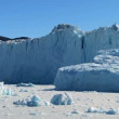 Majestic Ice Glacier  in the Arctic - Stock Photo