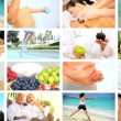 Montage of Living a Healthy Lifestyle — Stock Video #23256734
